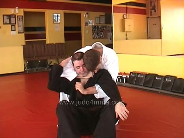 Click for a video showing a traditional Judo technique called Okure Eri Jime - Sliding Lapel Choke
